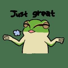Tree frog man! sticker #3671617