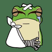 Tree frog man! sticker #3671620