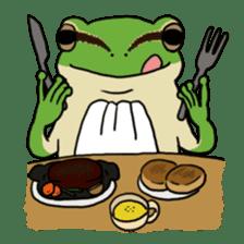 Tree frog man! sticker #3671626