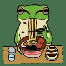 Tree frog man! sticker #3671627