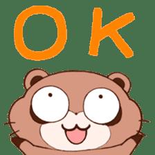 Tanuki(Raccoon dog) sticker sticker #3673234
