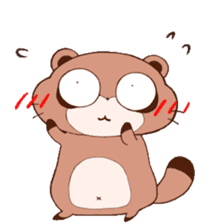Tanuki(Raccoon dog) sticker sticker #3673236