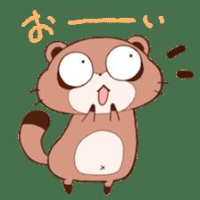 Tanuki(Raccoon dog) sticker sticker #3673237