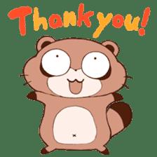 Tanuki(Raccoon dog) sticker sticker #3673238