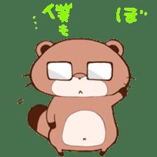 Tanuki(Raccoon dog) sticker sticker #3673240