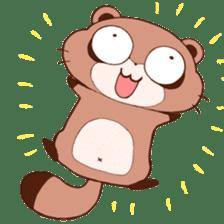 Tanuki(Raccoon dog) sticker sticker #3673241