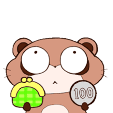 Tanuki(Raccoon dog) sticker sticker #3673242