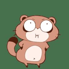 Tanuki(Raccoon dog) sticker sticker #3673247