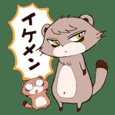 Tanuki(Raccoon dog) sticker sticker #3673248