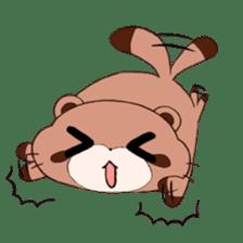 Tanuki(Raccoon dog) sticker sticker #3673250