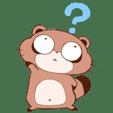 Tanuki(Raccoon dog) sticker sticker #3673251