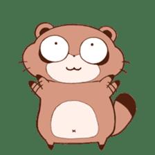 Tanuki(Raccoon dog) sticker sticker #3673253