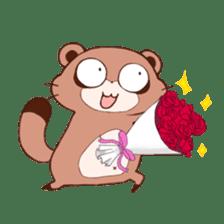 Tanuki(Raccoon dog) sticker sticker #3673255