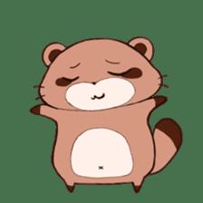 Tanuki(Raccoon dog) sticker sticker #3673257
