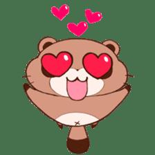 Tanuki(Raccoon dog) sticker sticker #3673261