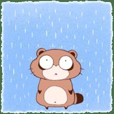 Tanuki(Raccoon dog) sticker sticker #3673269