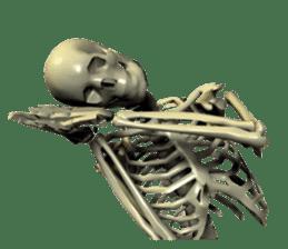 Honest skeleton! sticker #3673717
