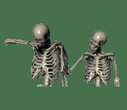 Honest skeleton! sticker #3673724