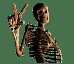 Honest skeleton! sticker #3673736