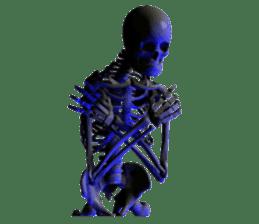 Honest skeleton! sticker #3673738