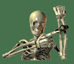 Honest skeleton! sticker #3673741
