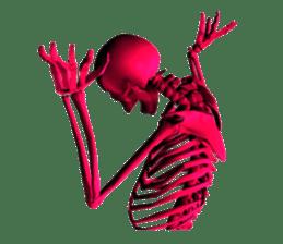 Honest skeleton! sticker #3673745