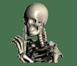 Honest skeleton! sticker #3673746