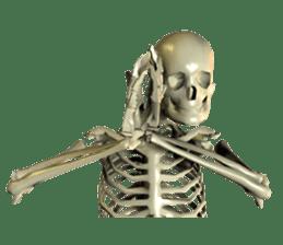 Honest skeleton! sticker #3673749