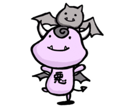 Cute and mad devils sticker #3680307