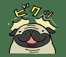 Japanese pug stickers sticker #3681592