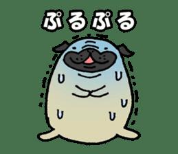Japanese pug stickers sticker #3681593