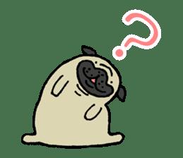 Japanese pug stickers sticker #3681594