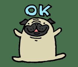 Japanese pug stickers sticker #3681595