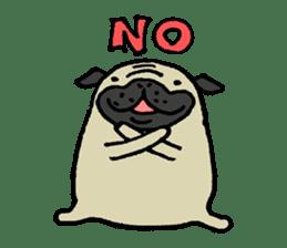 Japanese pug stickers sticker #3681596