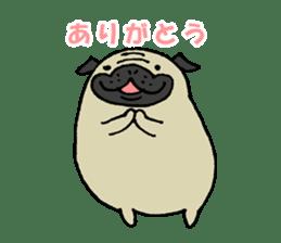 Japanese pug stickers sticker #3681597