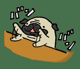 Japanese pug stickers sticker #3681598