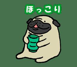 Japanese pug stickers sticker #3681602