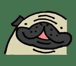 Japanese pug stickers sticker #3681605