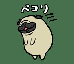 Japanese pug stickers sticker #3681614