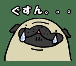 Japanese pug stickers sticker #3681621