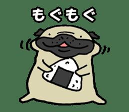 Japanese pug stickers sticker #3681624