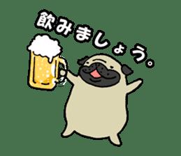 Japanese pug stickers sticker #3681628