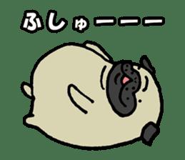 Japanese pug stickers sticker #3681629