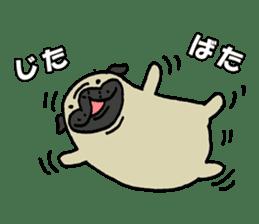 Japanese pug stickers sticker #3681630