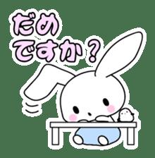 Small baby rabbit and panda sticker #3685312
