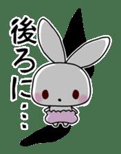 Small baby rabbit and panda sticker #3685316