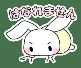 Small baby rabbit and panda sticker #3685318