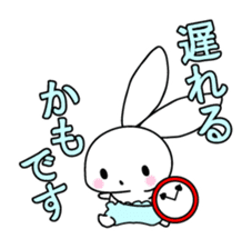 Small baby rabbit and panda sticker #3685324