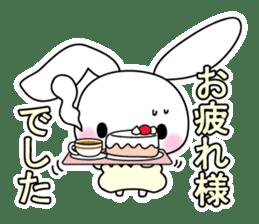 Small baby rabbit and panda sticker #3685329