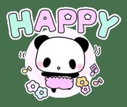 Small baby rabbit and panda sticker #3685330